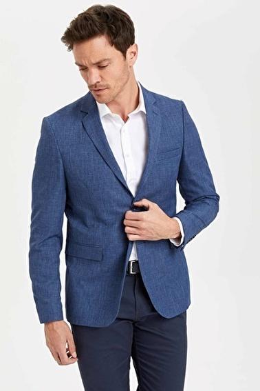 DeFacto Blazer Ceket Mavi